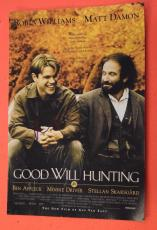 Matt Damon Signed Autographed GOOD WILL HUNTING 12x18 Movie Poster Photo COA