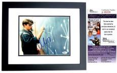 Matt Damon Signed - Autographed GOOD WILL HUNTING 8x10 Photo BLACK CUSTOM FRAME - JSA Certificate of Authenticity