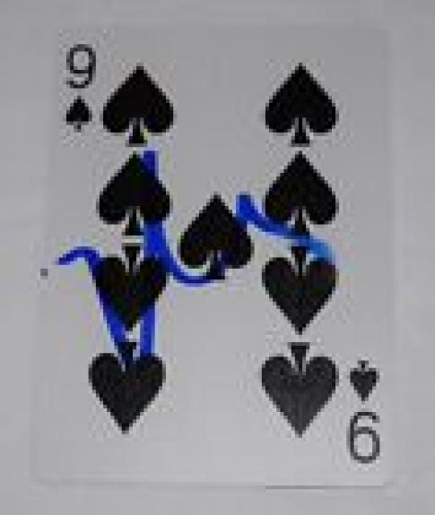 Matt Damon Signed Autographed ROUNDERS Winning Hand Playing Card Beckett COA
