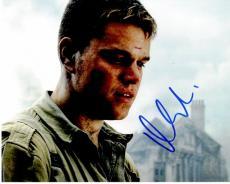 Matt Damon Signed - Autographed Saving Private Ryan 8x10 inch Photo - Guaranteed to pass PSA or JSA