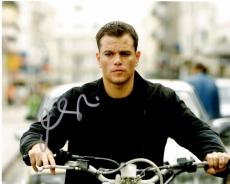Matt Damon Signed - Autographed The Bourne Ultimatum - Jason Bourne 8x10 inch Photo - Guaranteed to pass PSA/DNA or JSA