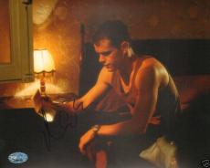 "Matt Damon Signed ""Bourne Identity"" 8x10 Photo PSA/DNA"