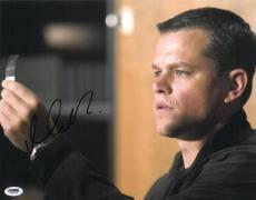 Matt Damon Signed Bourne Identity Autographed 11x14 Photo (PSA/DNA) #J03209