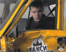 Matt Damon Signed Bourne Identity Autographed 11x14 Photo (PSA/DNA) #J03210