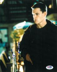 Matt Damon Signed Bourne Identity Autographed 8x10 Photo (PSA/DNA) #I72455