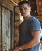Matt Damon Signed The Bourne Supremacy 8x10 Photo PSA/DNA COA Autograph Picture