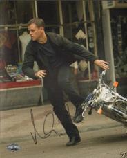 Matt Damon Signed Bourne Ultimatum Supremacy Identity 8x10 Photo PSA/DNA COA