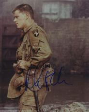 Matt Damon Signed Autographed Color Photo Saving Private Ryan