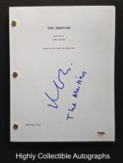 Matt Damon Signed Full 120 Page The Martian Movie Script Psa Dna Coa