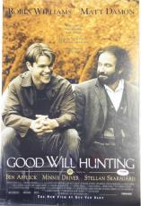 "MATT DAMON Signed ""Good Will Hunting"" 12x18 Photo Poster PSA/DNA #AB97492"