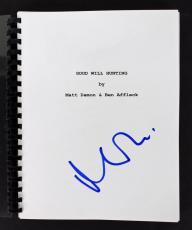Matt Damon Signed Good Will Hunting Movie Script PSA/DNA #AC43490