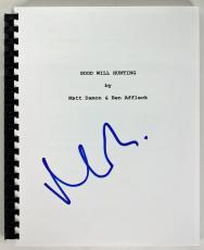 Matt Damon Signed Good Will Hunting Movie Script PSA/DNA #AC43504
