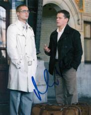 MATT DAMON signed *OCEAN'S ELEVEN* movie 8X10 photo W/COA (Linus Caldwell)