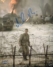 "Matt Damon Signed ""Saving Private Ryan"" 8x10 Photo PSA"