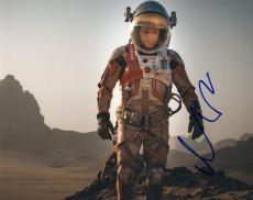 Matt Damon signed The Martian Movie 8x10 Photo w/COA Mark Watney #1