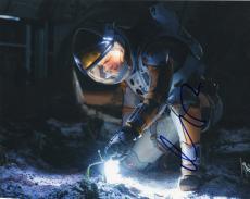 Matt Damon signed The Martian Movie 8x10 Photo w/COA Mark Watney