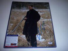 Matt Damon The Bourne Ultimatum,jason Bourne Psa/dna Signed 11x14 Photo