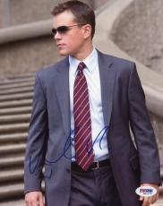 Matt Damon The Departed Signed 8X10 Photo Autograph PSA/DNA #M42379