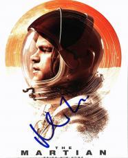 Matt Damon The Martian Signed 8X10 Photo Autographed PSA/DNA #AC43488