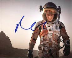 Matt Damon The Martian Signed 8X10 Photo Autographed PSA/DNA #AC43493