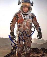 Matt Damon The Martian Signed 8X10 Photo Autographed PSA/DNA #AC43501