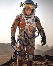 Matt Damon The Martian Signed 8X10 Photo Autographed PSA/DNA #AC43503