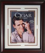 Matt Dillon Signed Cigar Aficionado Framed Display
