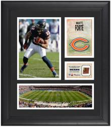 Matt Forte Chicago Bears Framed 15'' x 17'' Collage with Game-Used Football - Mounted Memories