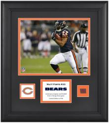"Chicago Bears Matt Forte Framed 8"" x 10"" with Game Used Football"