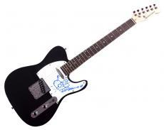 Matt Groening Hand drawn Simpsons Bart Homer Signed Guitar UACC RD AFTAL COA