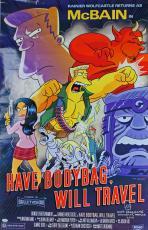 Matt Groening Signed 26.5x40.5 McBain Simpsons Poster w/ Sketch PSA/DNA #AB81046