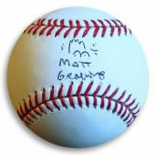 Matt Groening Signed Autographed Baseball The Simpsons Bart Sketch JSA Z37093