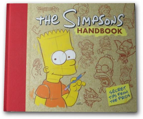 Matt Groening Signed Autographed Book The Simpsons Homer Sketch JSA BB40120