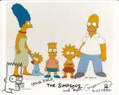Matt Groening Simpsons Signed Autograph Bart Sketch 8x10 1989/90 Promo Photo Coa