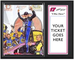 "Matt Kenseth 2012 Good Sam Roadside Assistance 500 Sublimated 12x15 ""I WAS THERE"" Photo Plaque - Mounted Memories"