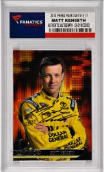 Matt Kenseth Nascar Autographed 2013 Press Pass Ignite #17 Card