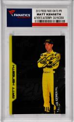 Matt Kenseth Nascar Autographed 2013 Press Pass Ignite Profile #P9 Card