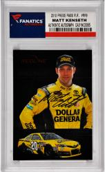 Matt Kenseth Nascar Autographed 2013 Press Pass Redline Redline Racers #RR9 Card