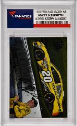Matt Kenseth Nascar Autographed 2013 Press Pass Velocity #V6 Card