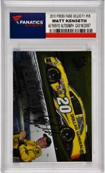 Matt Kenseth Nascar Autographed 2013 Press Pass Velocity #V6 Card