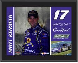 "Matt Kenseth 10"" x 13"" Sublimated Plaque - Mounted Memories"
