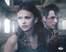 Matt Lanter Aimee Teegarden Signed 11x14 Photo PSA/DNA COA Star-Crossed Picture