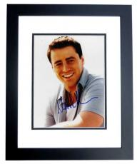 Matt LeBlanc Signed - Autographed FRIENDS 8x10 inch Photo BLACK CUSTOM FRAME - Guaranteed to pass PSA or JSA