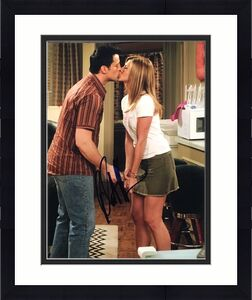 MATT LEBLANC SIGNED AUTOGRAPH CLASSIC FRIENDS KISS SHOW MOMENT 8x10 PHOTO COA
