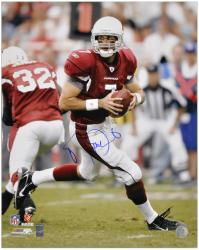 Arizona Cardinals Matt Leinart Signed 16'' x 20'' Photo - - Mounted Memories