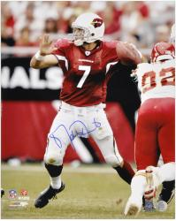 Arizona Cardinals Matt Leinart Signed 16'' x 20'' Photo - Mounted Memories