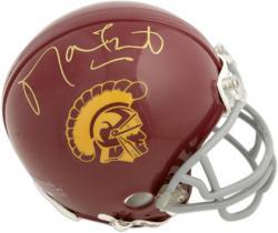 Matt Leinart Autographed USC Mini Helmet