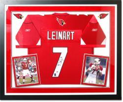 Matt Leinart Arizona Cardinals Deluxe Framed Autographed Jersey
