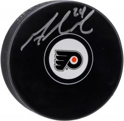 Matt Read Philadelphia Flyers Autographed Hockey Puck