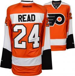 Matt Read Philadelphia Flyers Autographed Orange Reebok Premier Jersey